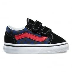 Vans Youth Old Skool Checkerboard V Skate Shoe