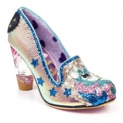 Irregular Choice Lady Misty Unicorn Court Shoe