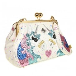 Irregular Choice Magic Pony White Unicorn Bag