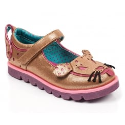 Irregular Choice Mini Woofy Gold