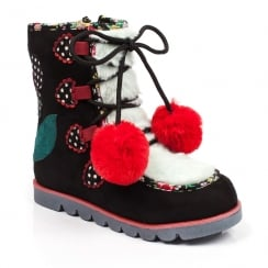 Irregular Choice Mini Warmer Kids Black