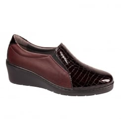 Notton Womens Casual Slip On Wedge Shoe