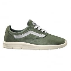 Vans Womens Green Iso 1.5 Retro Sport Trainers