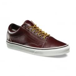 Vans Burgundy Ground Breakers Old Skool Skate Shoe