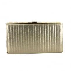 Menbur Achernar-Archid Gold Shimmer Clutch Bag