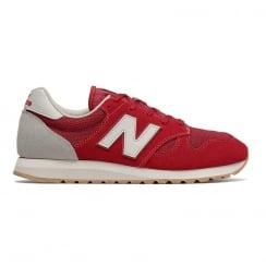 New Balance U520 Red Suede Unisex Running Classics Sneakers