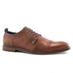 Escape Bapoon Mens Fire Leather Lace Up Smart Shoe