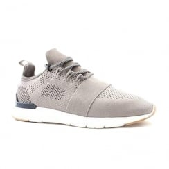 Tommy Bowe Concept Mens Three Ash Grey Mesh Sneakers