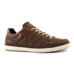 Lloyd & Pryce Mens Cregan Brown Leather Laced Shoes