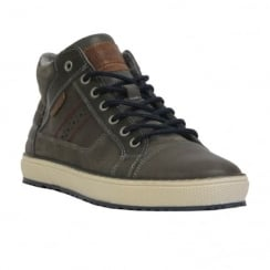 Lloyd & Pryce Mens Conway Hi Top Style Leather Shoes