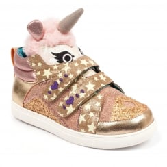Irregular Choice Mini Candy Gold