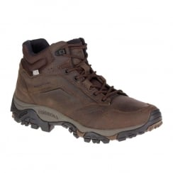 Merrell Mens Moab Adventure Mid Waterproof Hiking Boots