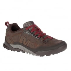 Merrell Mens Annex Trak Brown Low Hiking Shoes