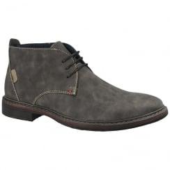 Goor Men's Grey Nubuck Desert Boots - 187