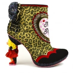 Irregular Choice Muppets - Fierce Piggy Character Heel Boots