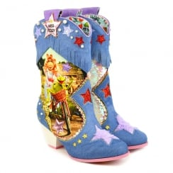 Irregular Choice Muppets She's Hip He's Hop Low Heel Boots