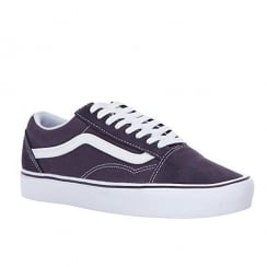 Vans Unisex Purple Suede Old Skool Trainers