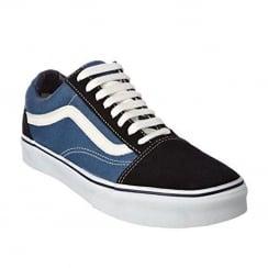 Vans Mens Blue Old Skool Low Top Trainers