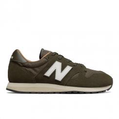 New Balance Unisex Running Classics 520 Khaki Sneakers