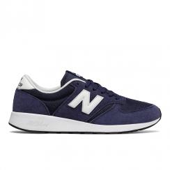 New Balance Men's Sport Style Navy Suede 420 Sneakers