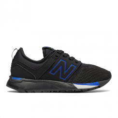 New Balance Boys 247 Black/Blue Sport Sneakers