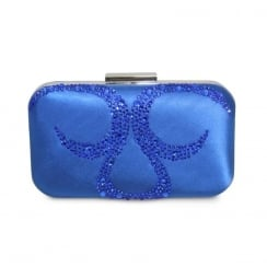 Lunar Arkle ZLR403 Cobalt Blue Clutch Bag