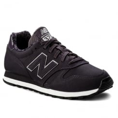 New Balance 373 Womens Purple Suede Trainers