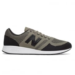 New Balance Men's Sport 420 Taupe/Black Mesh Sneakers