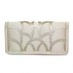 Lunar Dalia ZLR470 Champagne Envelope Handbag