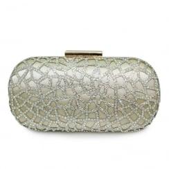 Lunar Dorado ZLR471 Gold Clutch Handbag