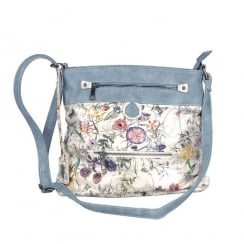 Rieker Ladies Blue Messenger Shoulder Strap Bag