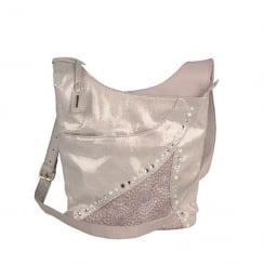 Rieker Ladies Nude Cross-Body Shoulder Strap Bag H143831