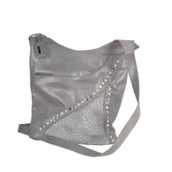Rieker Ladies Grey Cross-Body Shoulder Strap Bag H143842