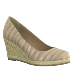Marco Tozzi Rose Espadrille Wedge