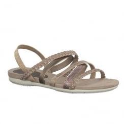 Marco Tozzi Rose Elasticated Strappy Slingback Flat Sandals 28123-20