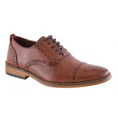 Boys Goor Brown Brogue