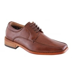 Boys Goor Brown Lace up Shoe
