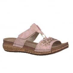 Marco Tozzi Rose Velcro Slip On Cork Sandals