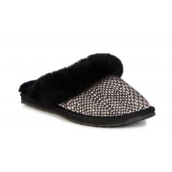 EMU Jolie - Black Slider Slippers