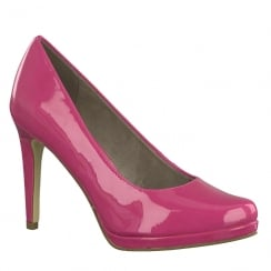 Tamaris Womens Fuchsia Stiletto High Heels