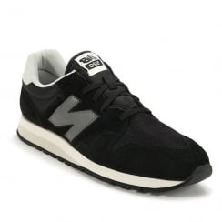 Mens New Balance Black Grey Suede U520CE Sneakers