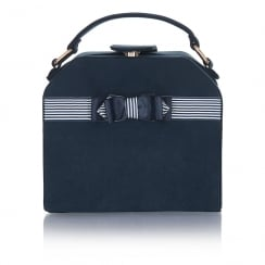 Ruby Shoo Tampa Box Bag - Navy
