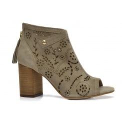 Alpe 3520 Peep Toe Ankle Boot