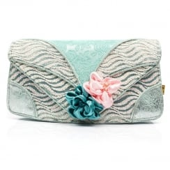 Irregular Choice Peach Melba Clutch - Mint