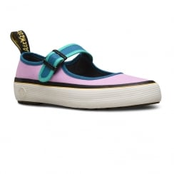 Dr Martens Womens Florentia Multi Canvas Shoes
