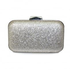 Lunar ZLC097 Romance Glitter Occasion Handbag - Gold