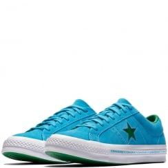 Converse Unisex One Star Pinstripe Trainers - Blue