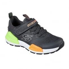 Skechers Kinectors Boys Memory Foam Velcro Trainer