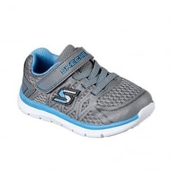 Skechers Skech-Lite Quick Leap Boys Velcro Trainer 95046N