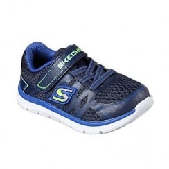 Skechers Skech-Lite Quick Leap Boys Velcro Trainer